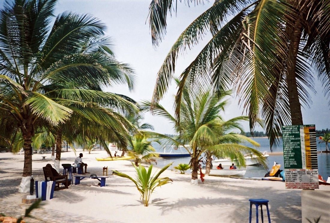 Ada Beach resort, Ada, Ghana, Beaches of Ghana, Africa, west Africa,