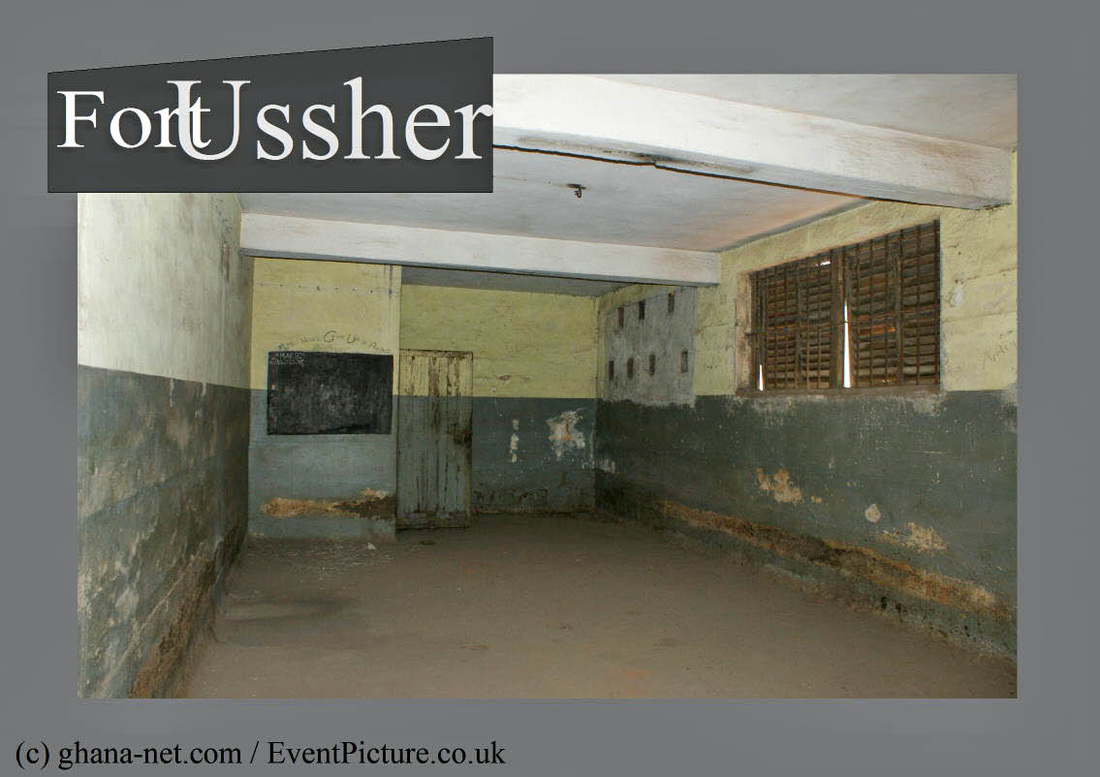 Picture of communal area, prison Fort Ussher