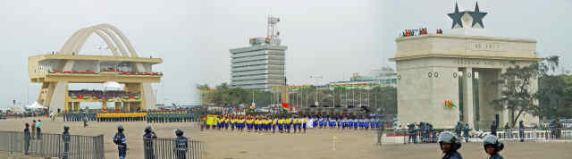 Picture of Independence Square, Accra, Ghana
